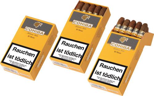 10 Cohiba Short Zigarillos