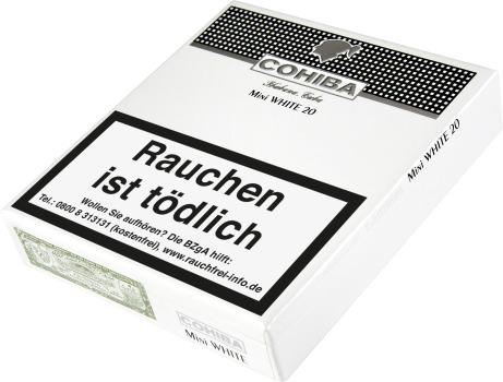 20 Cohiba White Mini Zigarillos